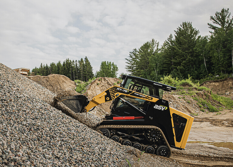 RT-75 Compact Track Loader