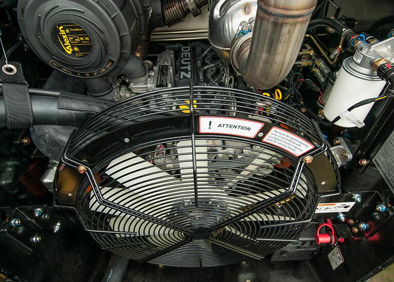 VS-75 Skid Steer Serviceability