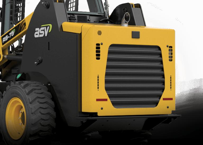 RS-75 Skid Steer Serviceability