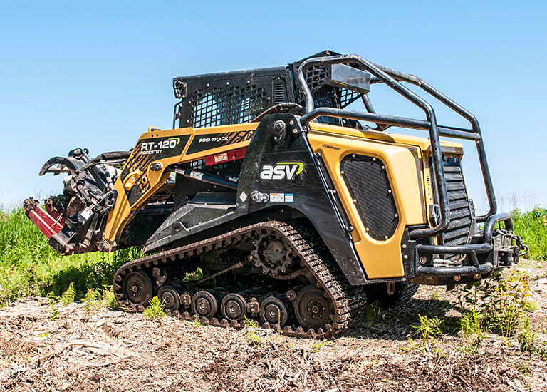 RT-120 Forestry Posi-Track CTL