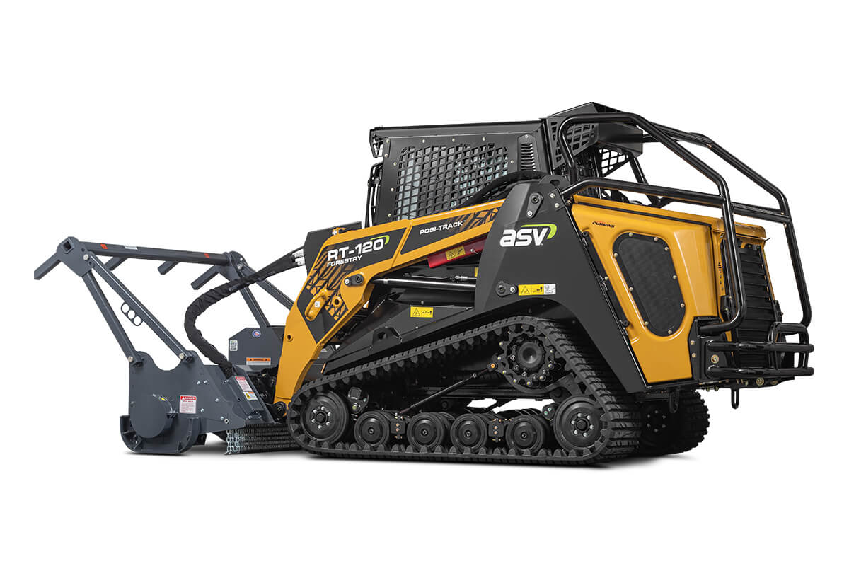 ASV RT-120 Forestry | Our Largest & Toughest Compact Track