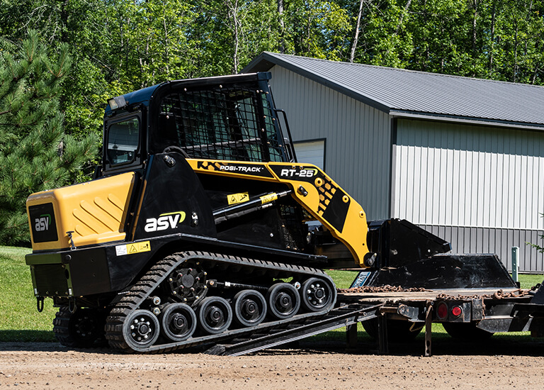 Small Compact Track Loader