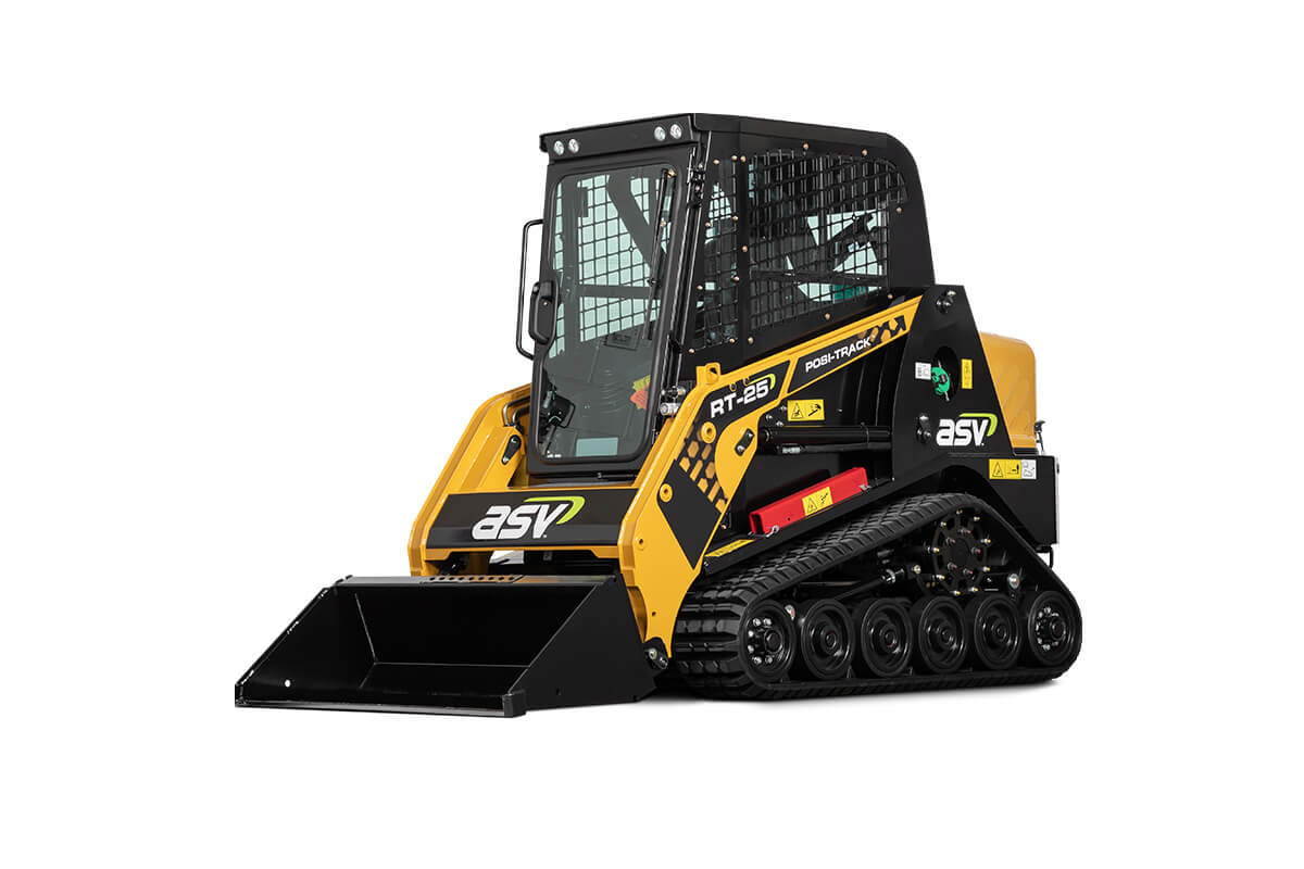 ASV RT-25 | Productivity-Boosting Sit-In Compact Track Loader