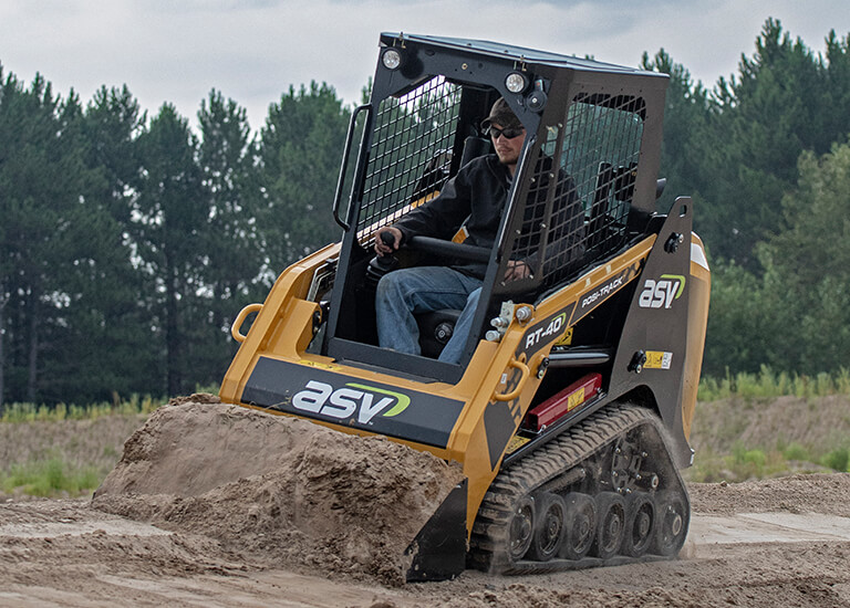ASV RT-40 | Radial Compact Track Loader With Posi-Track
