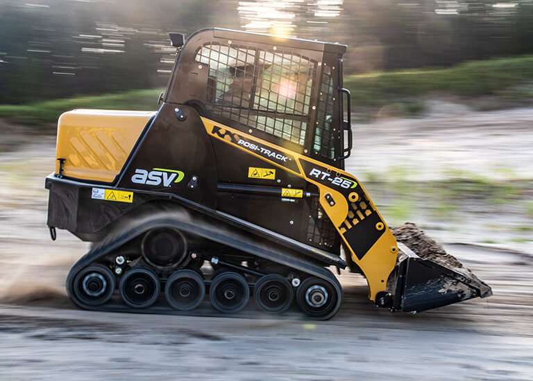 RT-25 Small Compact Track Loader