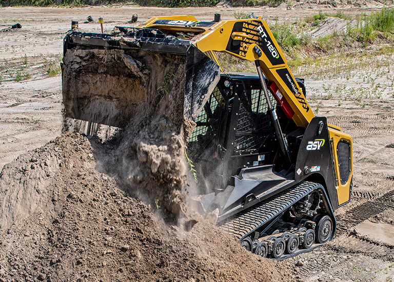 RT-120 Compact Track Loader