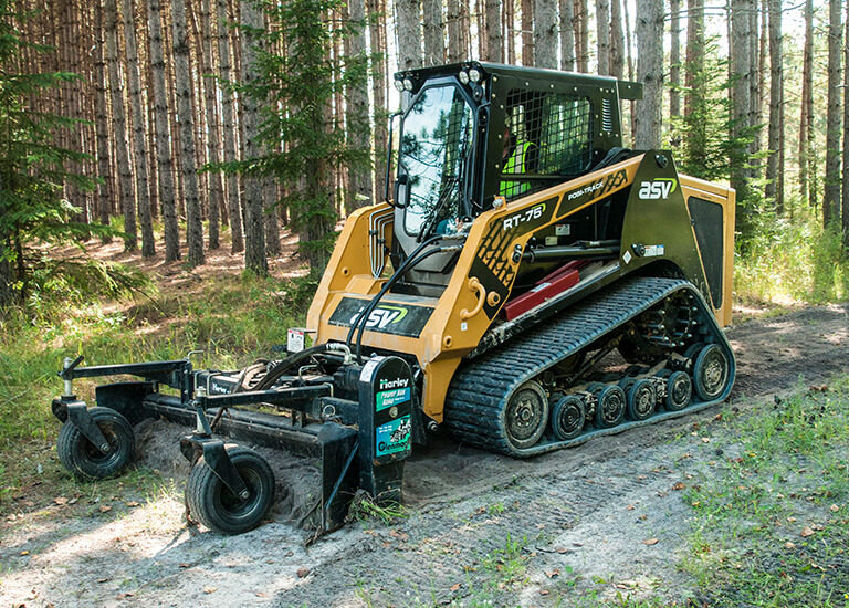 ASV RT-75 | All Season, Mid-Sized Rubber Track Loader