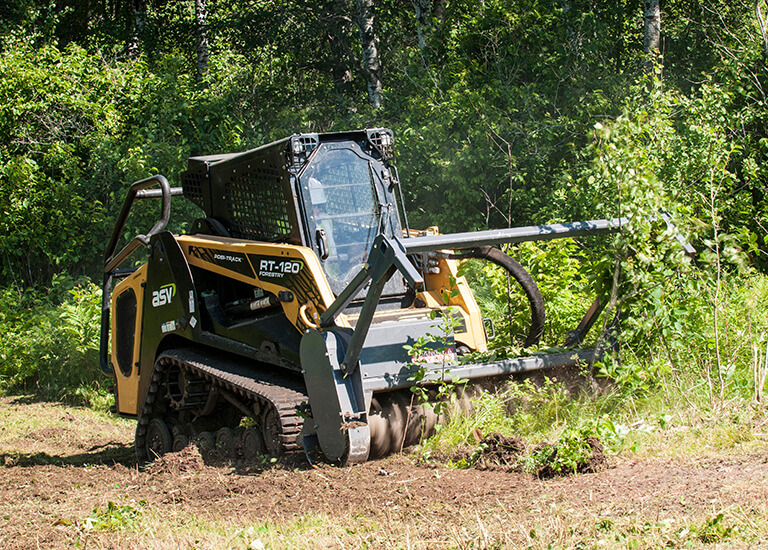 RT-120 Forestry Posi-Track Compact Track Loader