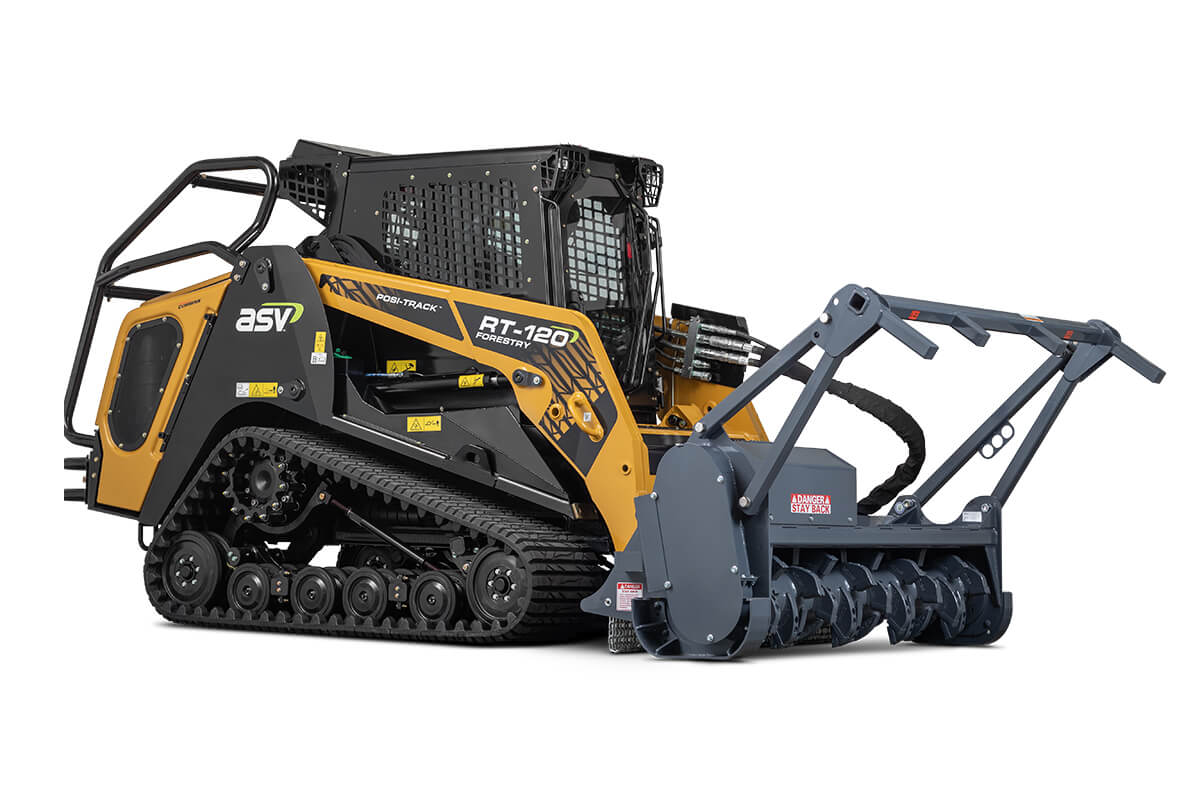ASV RT-120 Forestry | Our Largest & Toughest Compact Track Loader