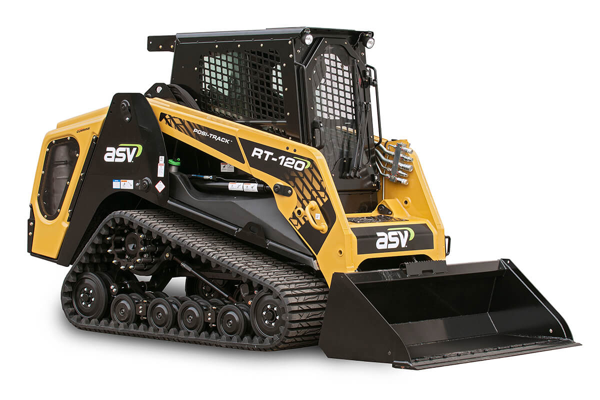 ASV RT-120 | Our Most Powerful Compact Track Loader