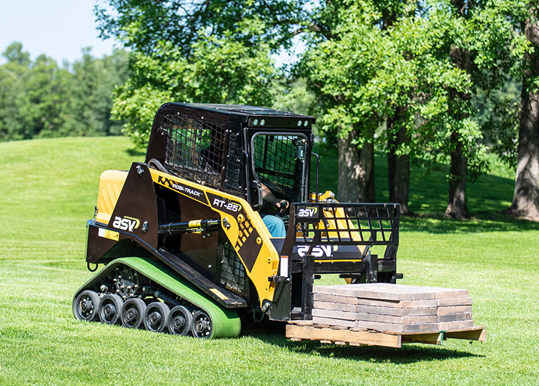 Posi-Track CTL for Landscaping