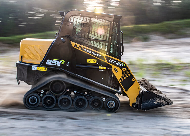 Posi-Track Compact Track Loader for Landscaping