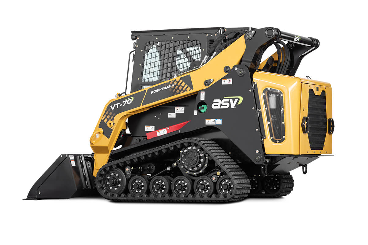 ASV VT-70 | Vertical Lift Compact Track Loader With Posi-Track