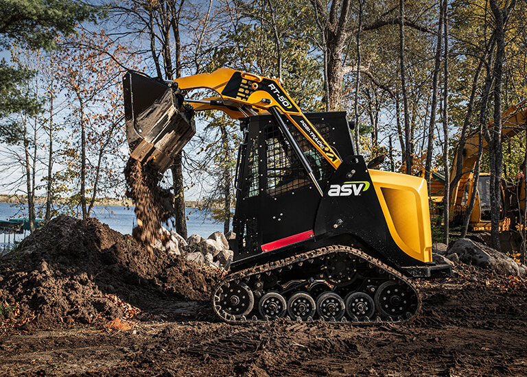 RT-50 Compact Track Loader Performance