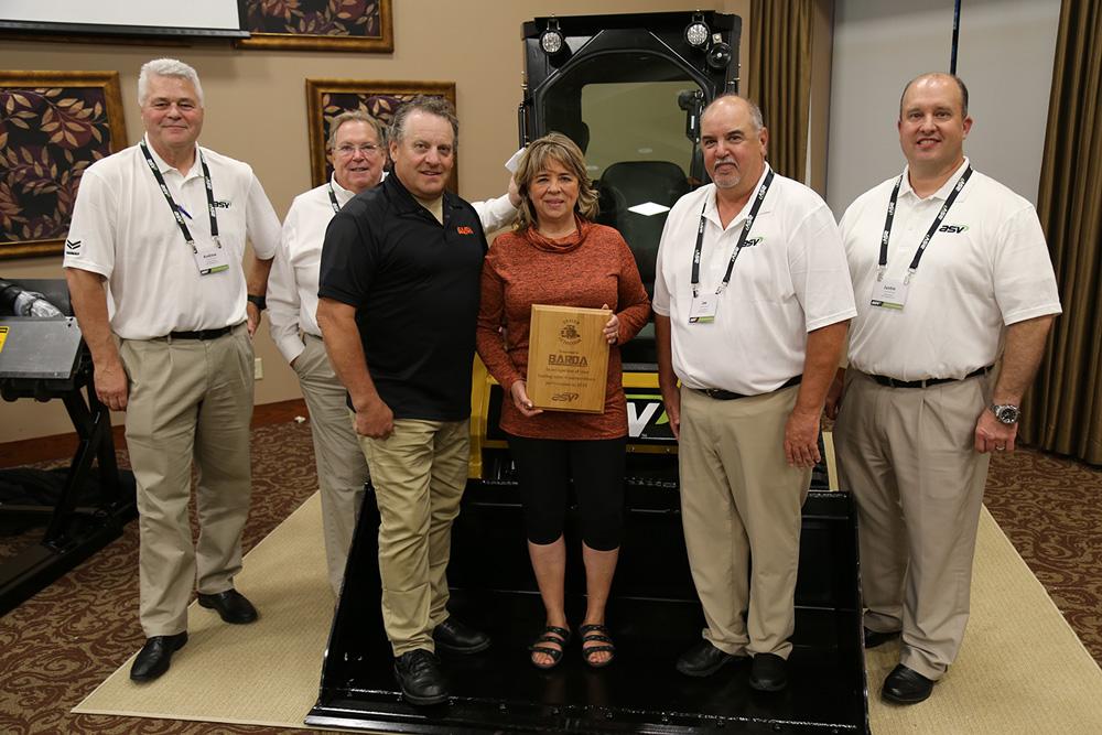 Alberta-based Barda Equipment named Dealer of the Year