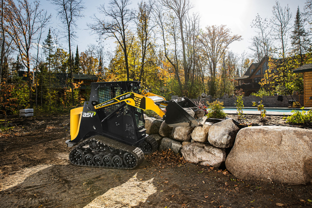 RT-50 Compact Track Loader