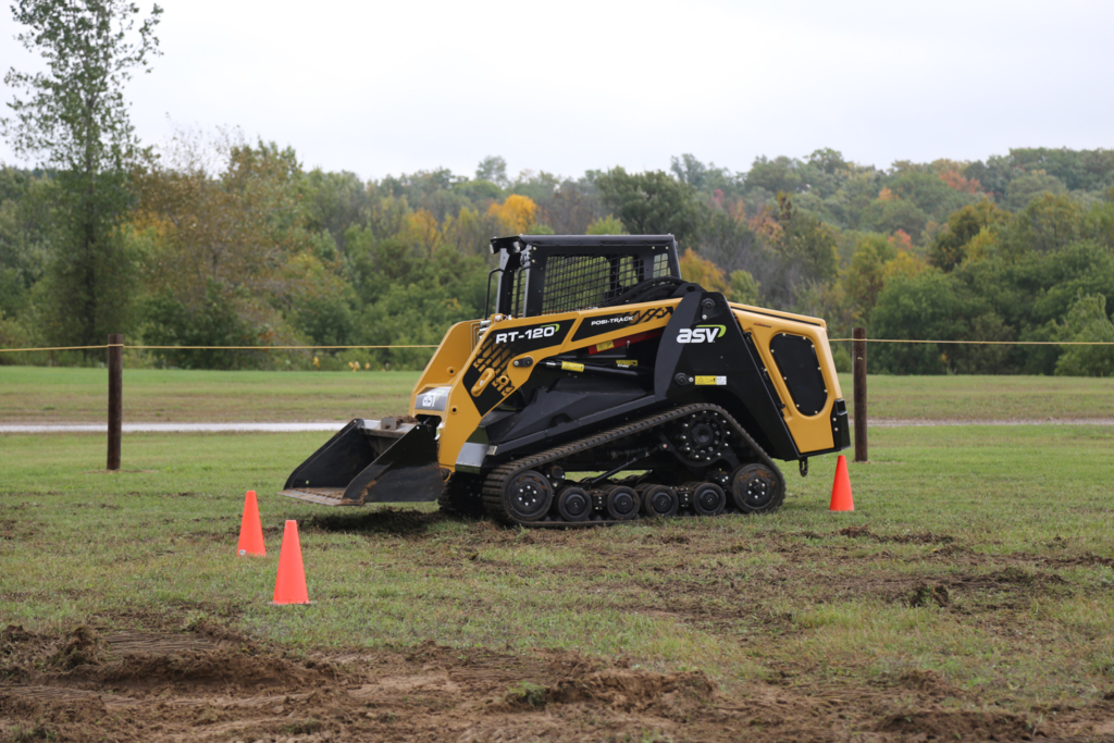 Remote-control compact track loaders