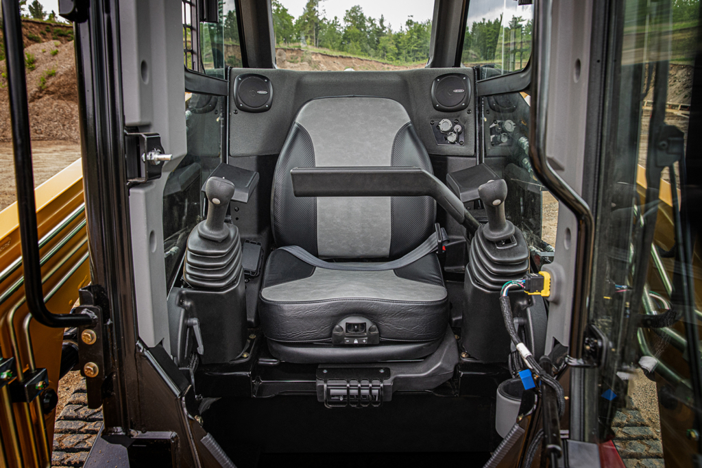 MAX Series compact track loader cab