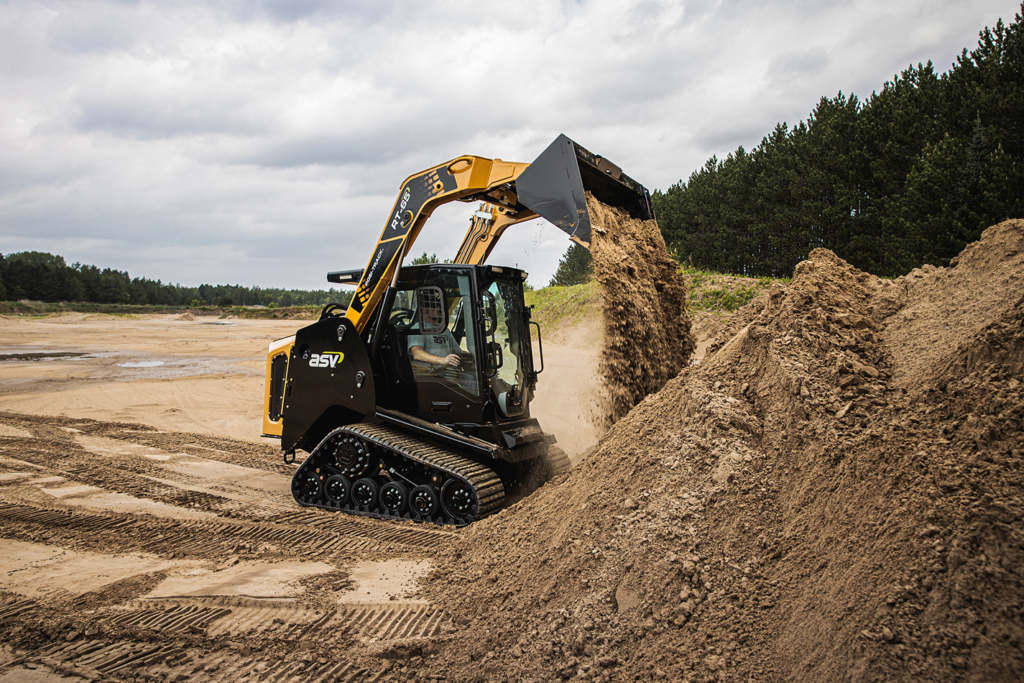 RT-65 MAX Series compact track loader