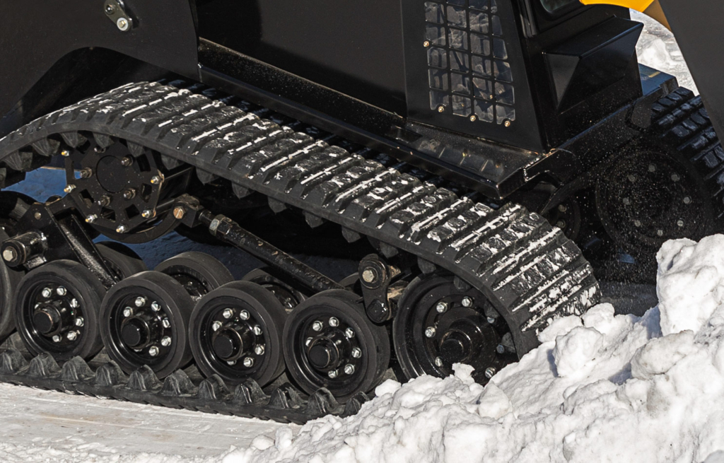 ASV Tracks in Snow