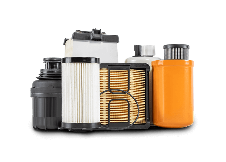ASV compact track loader engine filters