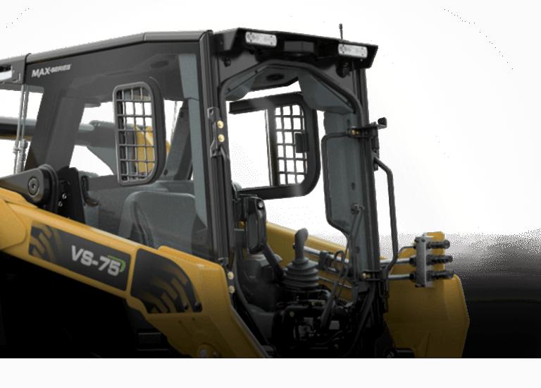 Skid steer premium operator experience